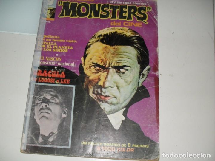 FAMOSOS MONSTERS 1,EL PRIMERO.EDICIONES IMDE,AÑO 1975. (Tebeos y Comics - Toutain - Creepy)