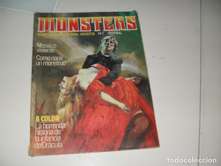 MONSTERS 1.EDICIONES ZINCO,AÑO 1982. (Tebeos y Comics - Toutain - Creepy)