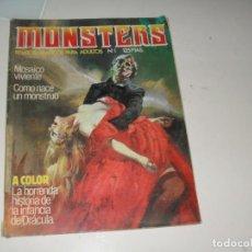 Cómics: MONSTERS 1.EDICIONES ZINCO,AÑO 1982.. Lote 288891273