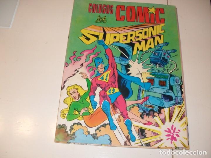 COLOSOS DEL COMIC 23:SUPERSONIC MAN.EDITORIAL VALENCIANA,AÑO 1979. (Tebeos y Comics - Toutain - Creepy)