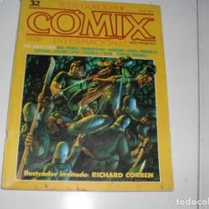 Cómics: ILUSTRACION+COMIX INTERNACIONAL 32.TOUTAIN EDITOR,AÑO 1979.. Lote 288908573