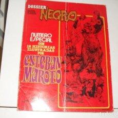 Cómics: DOSSIER NEGRO NUMERO ESPECIAL ESTEBAN MAROTO.EDITORIAL,AÑO 1968.. Lote 289480608