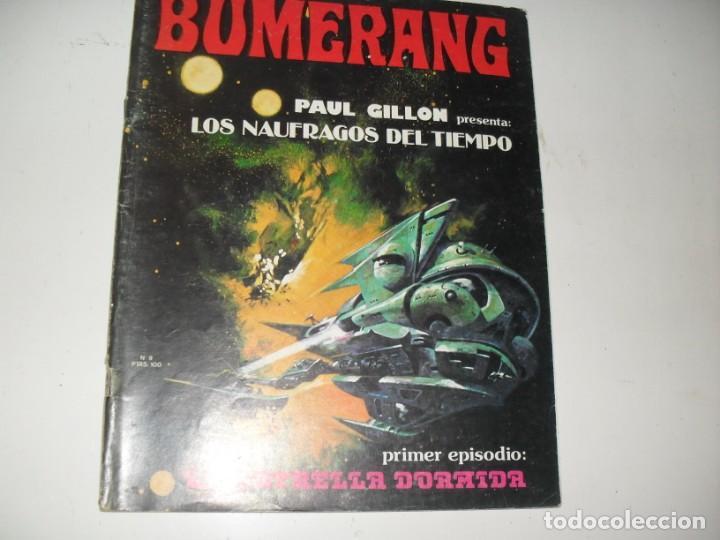 BUMERANG 9.EDITA NUEVA FRONTERA,AÑO 1977. (Tebeos y Comics - Toutain - Otros)