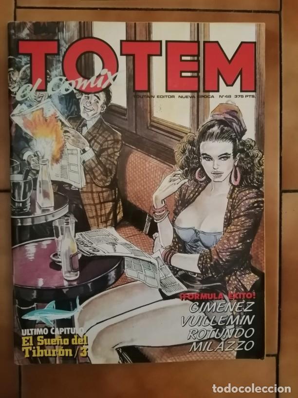 REVISTA TOTEM EL COMIX Nº 48 GIMENEZ VUILLEMIN ROTUNDO MILAZZO BERARDI (Tebeos y Comics - Toutain - Otros)