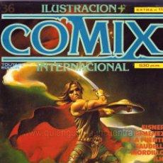 Cómics: COMIX INTERNACIONAL EXTRA Nº 11 TOUTAIN-1983-NÚMEROS 36-37-38 NUEVO. Lote 289630548