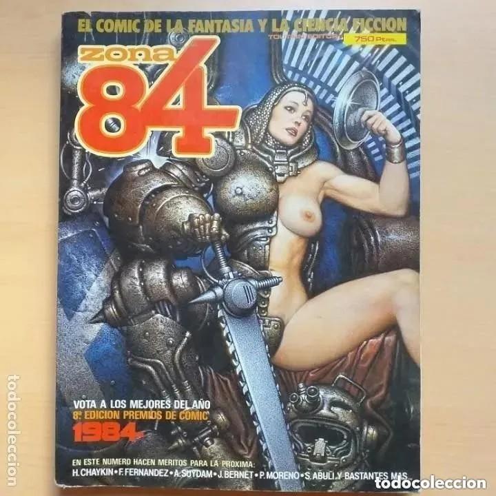 ZONA 84 NUMS 32,33 Y 34. EXTRA NUM 11. RETAPADOS. (Tebeos y Comics - Toutain - Zona 84)