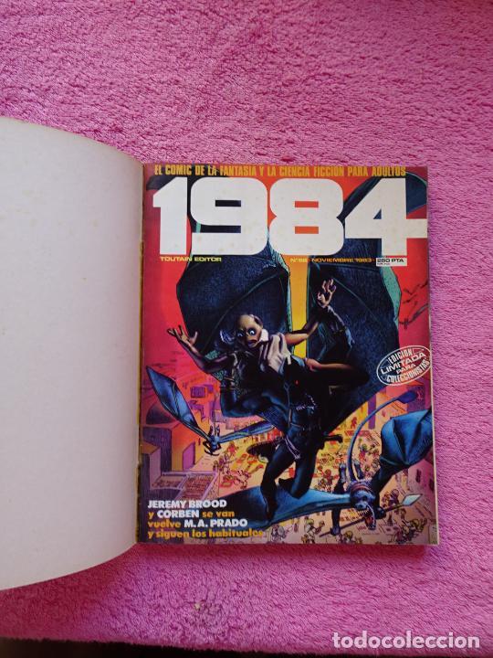 Cómics: 1984 antología 58-60-63 editorial toutain 1983 richard corben tomo extra - Foto 2 - 289854673