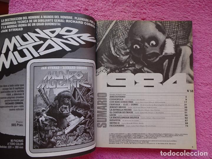 Cómics: 1984 antología 58-60-63 editorial toutain 1983 richard corben tomo extra - Foto 4 - 289854673