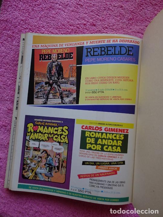 Cómics: 1984 antología 58-60-63 editorial toutain 1983 richard corben tomo extra - Foto 25 - 289854673