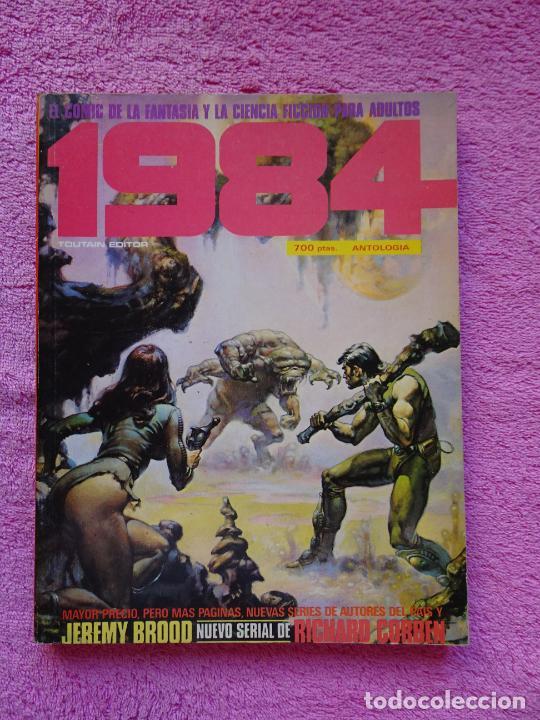 1984 ANTOLOGÍA 58-60-63 EDITORIAL TOUTAIN 1983 RICHARD CORBEN TOMO EXTRA (Tebeos y Comics - Toutain - 1984)