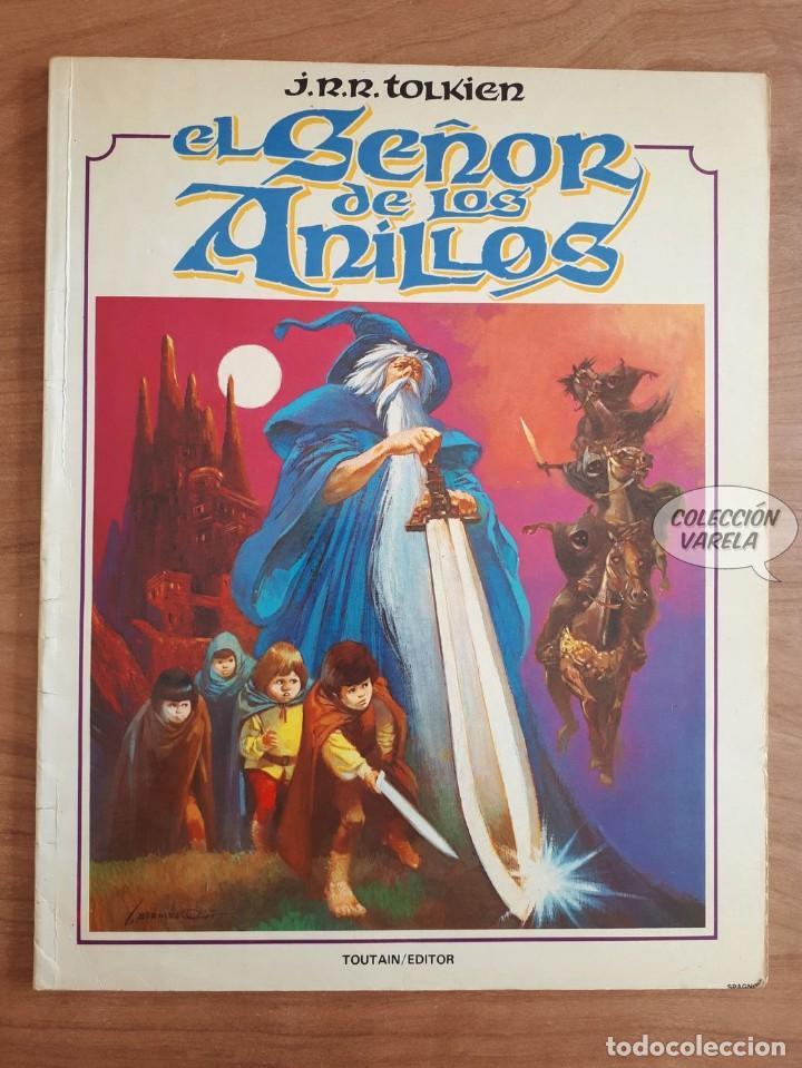 EL SEÑOR DE LOS ANILLOS - J.R.R. TOLKIEN - LUIS BERMEJO - TOUTAIN (Tebeos y Comics - Toutain - Otros)