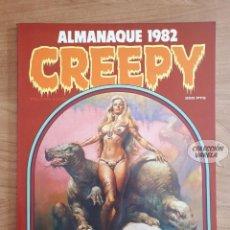 Cómics: CREEPY ALMANAQUE 1982 - TOUTAIN - EISNER CORBEN ALCALA MAROTO. Lote 289874748