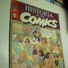 Cómics: HISTORIA DE LOS CÓMICS Nº 2 1982 (ALGÚN DEFECTO). Lote 289997163