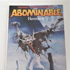 Cómics: ABOMINABLE - HERMANN. Lote 290022438