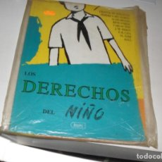 Cómics: LOS DERECHOS DEL NIÑO,IKUSAGER EDICIONES,1991.EDICION GIGANTE.. Lote 290999893
