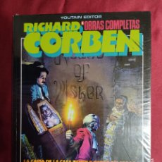 Cómics: RICHARD CORBEN OBRAS COMPLETAS 4 LA CAIDA DE LA CASA USHER. TOUTAIN EDITOR PRECINTADO. Lote 291226068