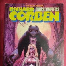 Cómics: RICHARD CORBEN. OBRAS COMPLETAS Nº 2. HOMBRE LOBO. TOUTAIN EDITOR. 1984. Lote 291228503