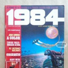 Comics: 1984 Nº 41 - TOUTAIN. Lote 291508728