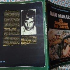 Cómics: MILO MANARA, EL HOMBRE DE PAPEL, GRANDES AUTORES EUROPEOS 1. Lote 292321568