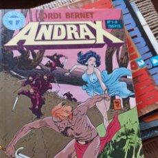 Cómics: ANDRAX: JORDI BERNET. 1-6, 10 HISTORIAS COMPLETAS. Lote 292589193