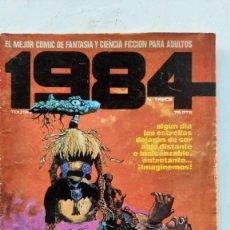 Cómics: LOTE DE DOS CÓMICS 1984, Nº 13 Y 21, TOUTAIN EDITOR. Lote 293176873