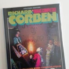 Cómics: RICHARD CORBEN. OBRAS COMPLETAS 4 DE TOUTAIN. DEDICADO A EDGAR ALLAN POE. Lote 293309563