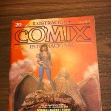Cómics: COMIX INTERNACIONAL Nº 20 , TOUTAIN EDITORS. Lote 293484383