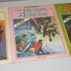 Cómics: EL SEÑOR DE LOS ANILLOS, COMPLETA EN 3 VOLÚMENES, LUIS BERMEJO, J.R.R. TOLKIEN, TOUTAIN 1980. Lote 293497798