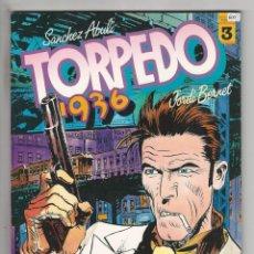 Cómics: TOUTAIN. TORPEDO 1936. 3. Lote 293547588