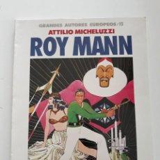 Cómics: ROY MANN - ATTILIO MICHELUZZI. Lote 293559658