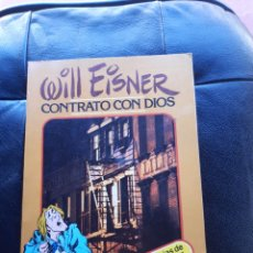 Cómics: WILL EISNER CONTRATO CON DIOS. Lote 293607213