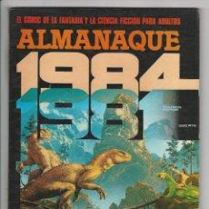 Cómics: TOUTAIN. 1984. ALMANAQUE 1981.. Lote 293750098