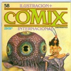 Cómics: TOUTAIN. COMIX INTERNACIONAL. 58.. Lote 293750173