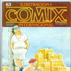 Cómics: TOUTAIN. COMIX INTERNACIONAL. 63.. Lote 293750188