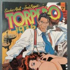 Cómics: TORPEDO 1936 Nº 7 (SANCHEZ ABULI - JORDI BENNET) TOUTAIN 1985 ''PRECINTADO''. Lote 293824663