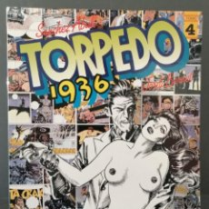 Cómics: TORPEDO 1936 Nº 4 (SANCHEZ ABULI - JORDI BENNET) TOUTAIN 1985 ''PRECINTADO''. Lote 293824783
