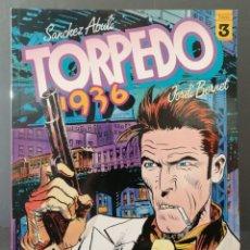 Cómics: TORPEDO 1936 Nº 3 (SANCHEZ ABULI - JORDI BENNET) TOUTAIN 1985 ''PRECINTADO''. Lote 293825098