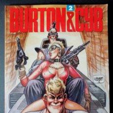 Cómics: BURTON & CYB Nº 2 (SEGURA - ORTIZ) TOUTAIN 1989 ''EXCELENTE ESTADO''. Lote 294033298