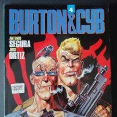 Cómics: BURTON & CYB Nº 4 (SEGURA - ORTIZ) TOUTAIN 1989 ''EXCELENTE ESTADO''. Lote 294033613