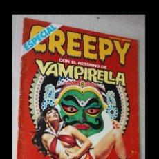 Cómics: CREEPY ESPECIAL CON EL RETORNO DE VAMPIRELLA, Nº 35, AÑO 1982. Lote 294090763
