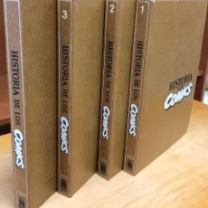 Cómics: HISTORIA DE LOS COMICS 4 TOMOS. COMPLETA. AÑO 1982. Lote 294837593