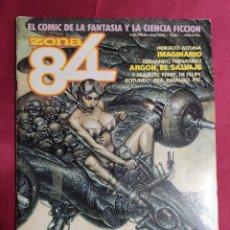 Cómics: ZONA 84. EL CÓMIC DE LA FANTASÍA Y LA CIENCIA FICCIÓN. Nº 61. TOUTAIN.. Lote 294856078