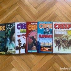 Cómics: CREEPY ALMANAQUES COLECCIÓN COMPLETA 1980 1981 1982 1983 1984 1985 - EXCELENTES D1. Lote 295442893