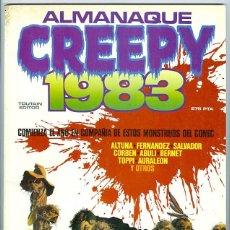 Cómics: TOUTAIN. CREEPY. ALMANAQUE 1983.. Lote 295579183