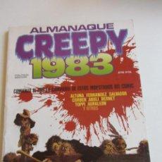 Cómics: CREEPY: ALMANAQUE 1983. ALTUNA, FERNANDEZ, SALVADOR, CORBEN, ABULI, BERNET, TOPPI TO BUEN ESTADO E2. Lote 295979353