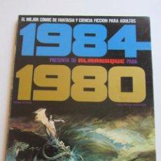 Cómics: 1984. ALMANAQUE 1980 CORBEN, ABULI, BERNET TOUTAIN BUEN ESTADO E2. Lote 295979723
