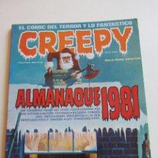 Cómics: CREEPY ALMANAQUE 1981 CORBEN DURANONA, TOUTAIN BUEN ESTADO E2. Lote 295979973