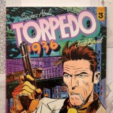 Cómics: TORPEDO 1936 Nº 1 DE 7 DE SANCHEZ ABULI Y BERNET. TOUTAIN EDITOR 1984. Lote 296627528
