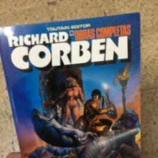 Cómics: RICHARD CORBEN OBRAS COMPLETAS 10 PILGOR. Lote 296783818