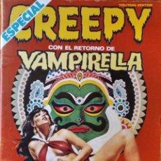 Cómics: CREEPY Nº 35 - EL COMIC DE TERROR Y LO FANTASTICO. TOUTAIN. ESPECIAL VAMPIRELLA.. Lote 297090783